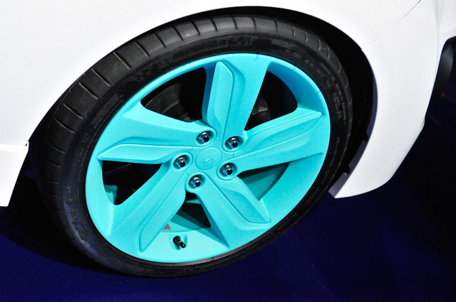 2012 Hyundai Veloster C3 Roll Top Rims