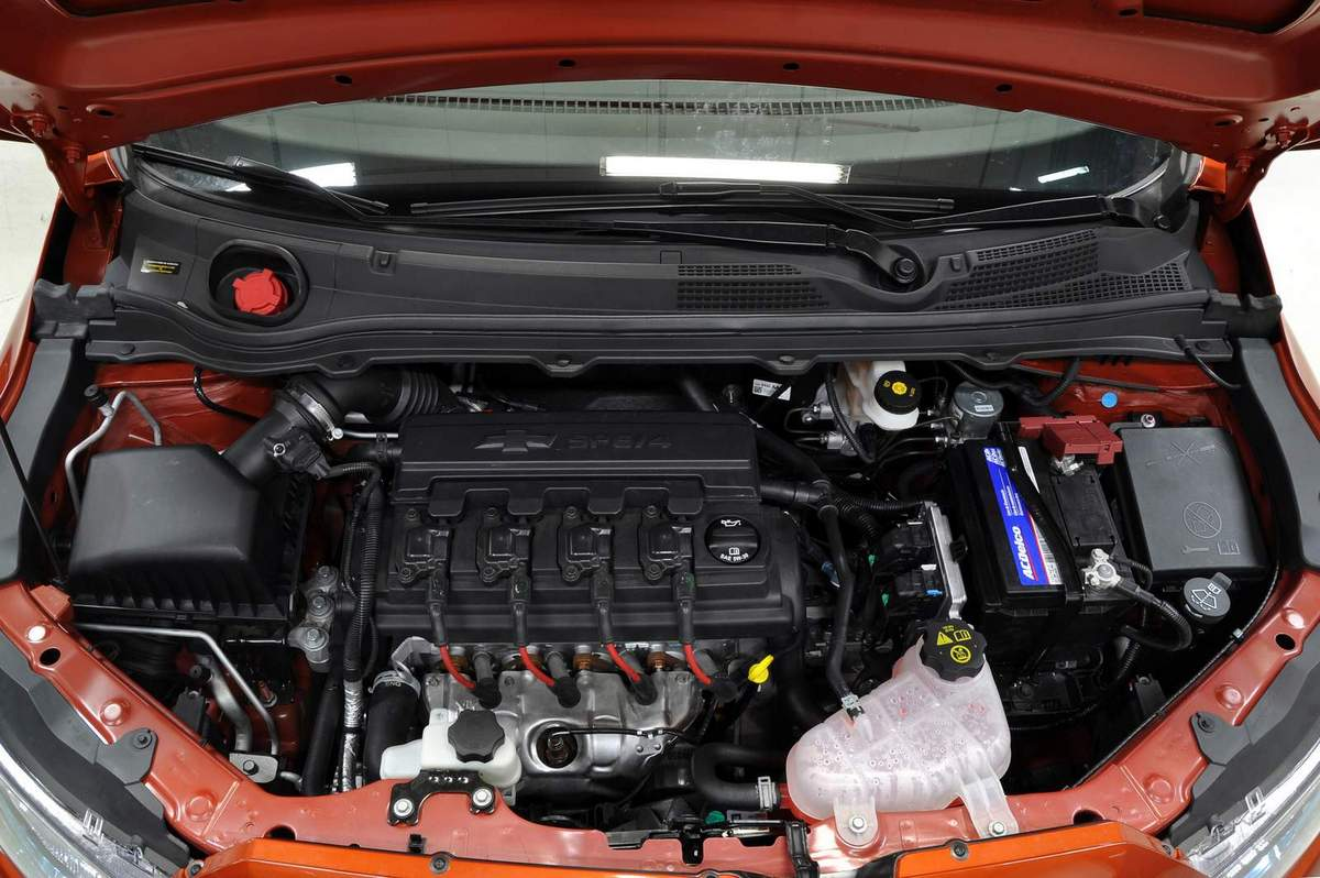 2013 Chevrolet Onix Engine View