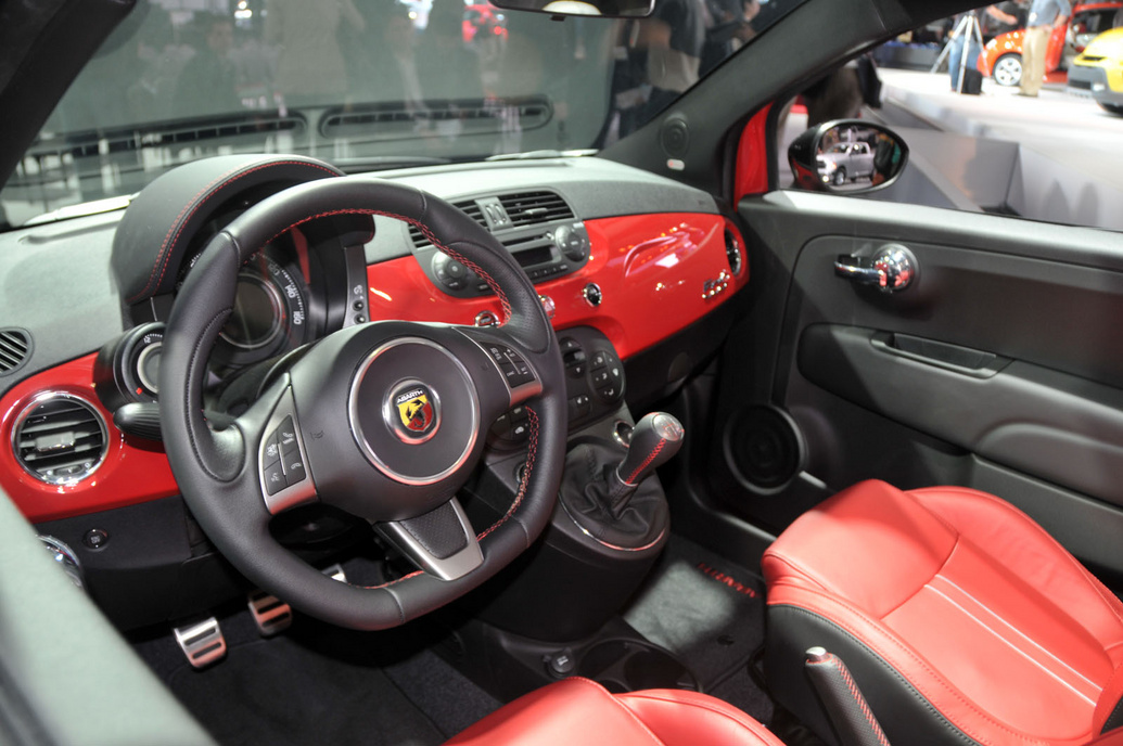 2013 Fiat 500C Abarth Interior