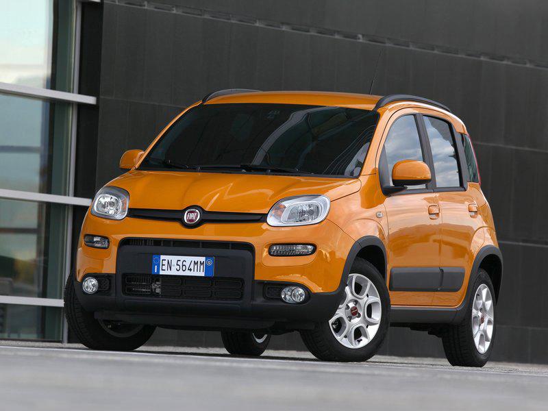 2013 Fiat Panda Trekking Exterior