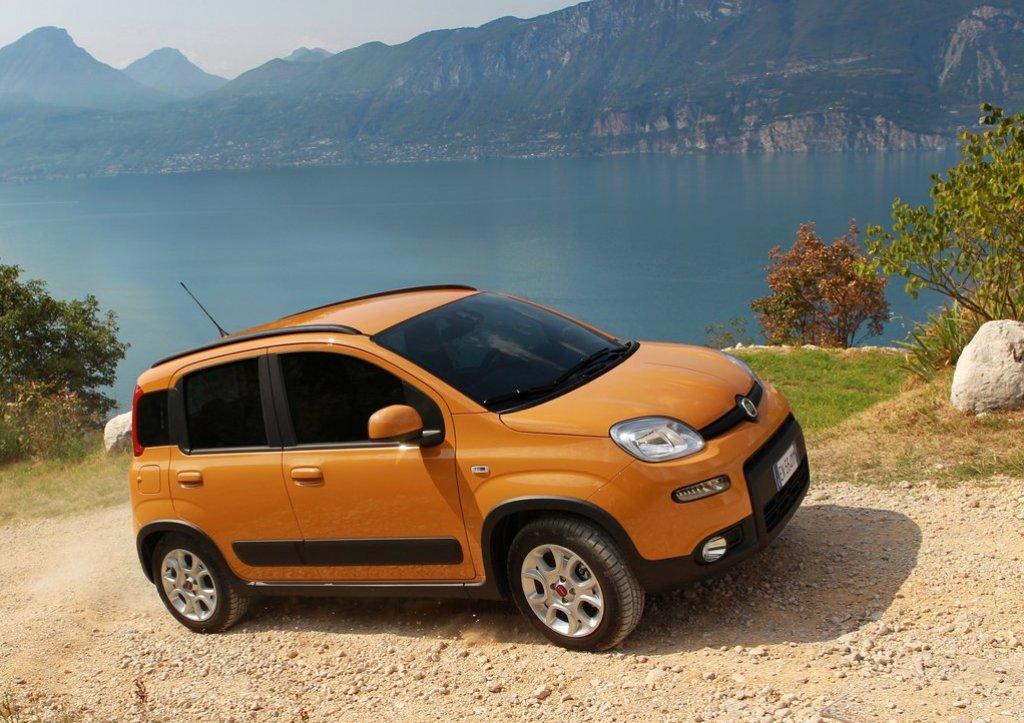 2013 Fiat Panda Trekking Test Drive