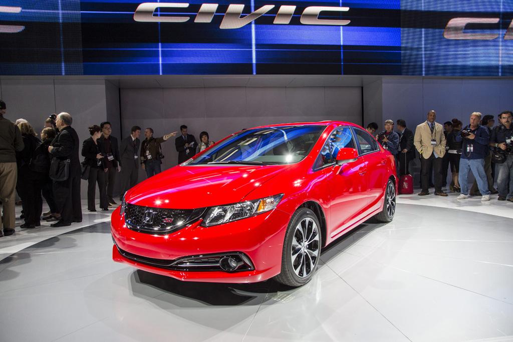 2013 Honda Civic Coupe Car Show