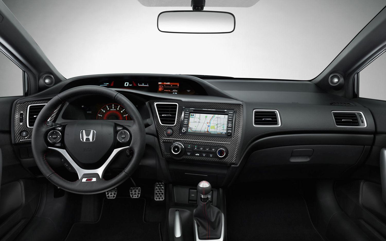 2013 Honda Civic Coupe Front Interior