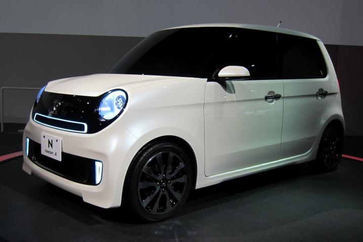 2013 Honda N-One White