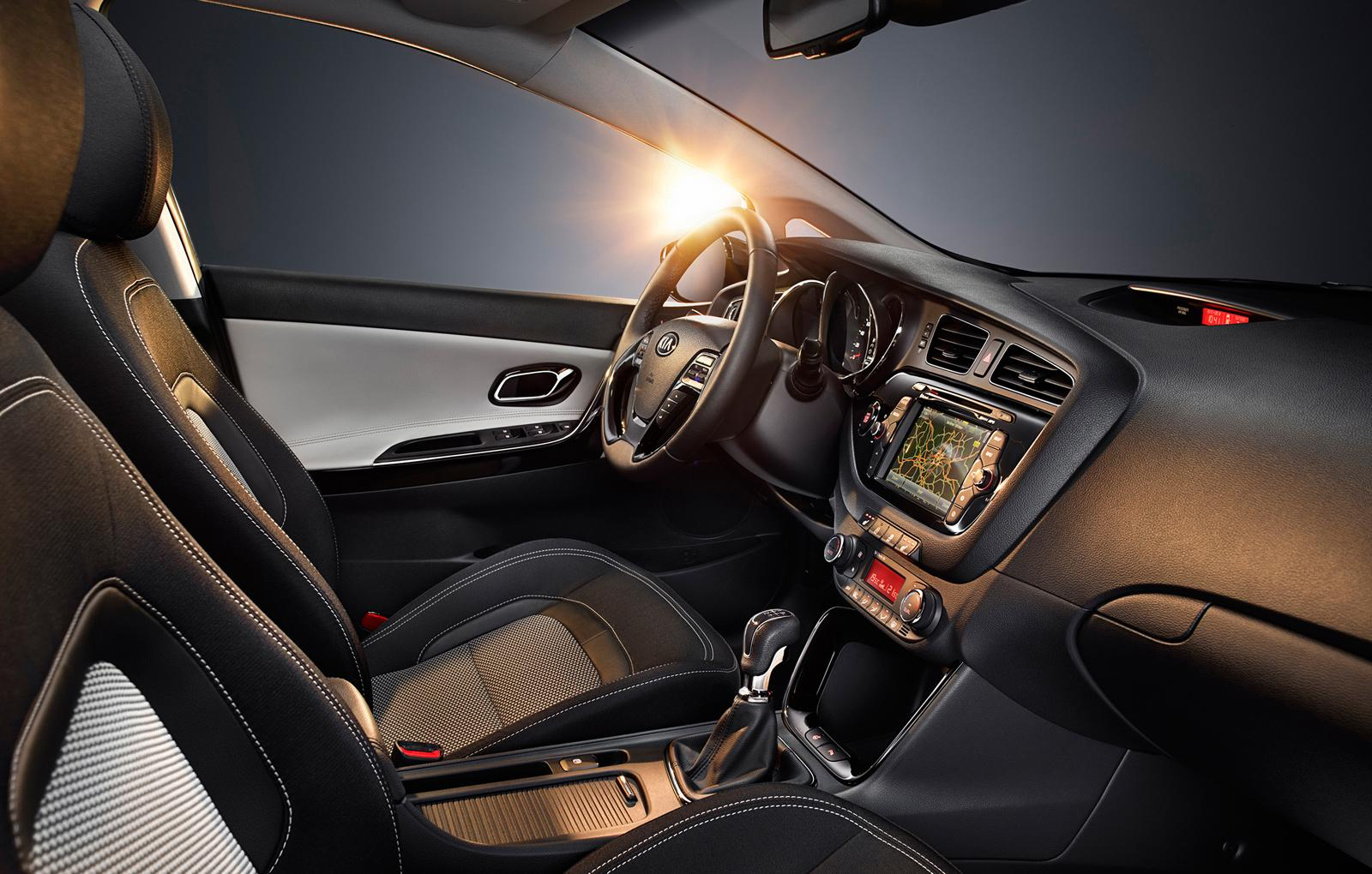 2013 Kia Ceed SW Interior Design