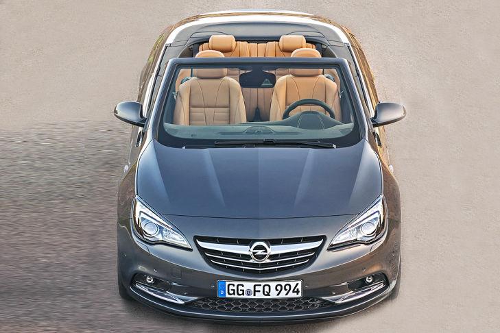 2013 Opel Cascada Front View