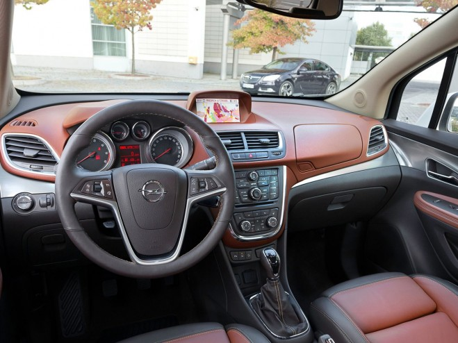2013 Opel Mokka Dashboard Interior