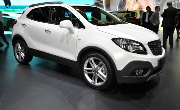 2013 Opel Mokka White