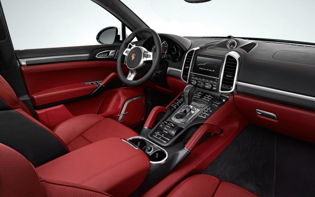 2013 Porsche Cayenne Turbo S Interior Design