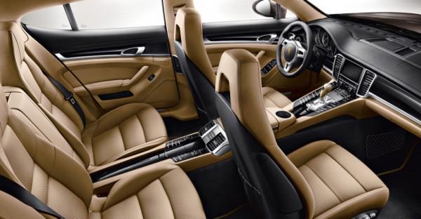 2013 Porsche Panamera Platinum Edition Interior