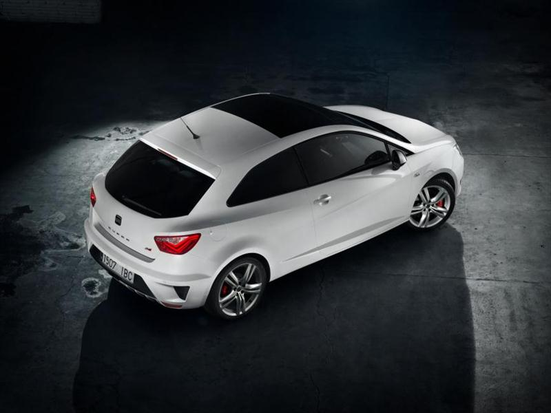 2013 Seat Ibiza Cupra Top View