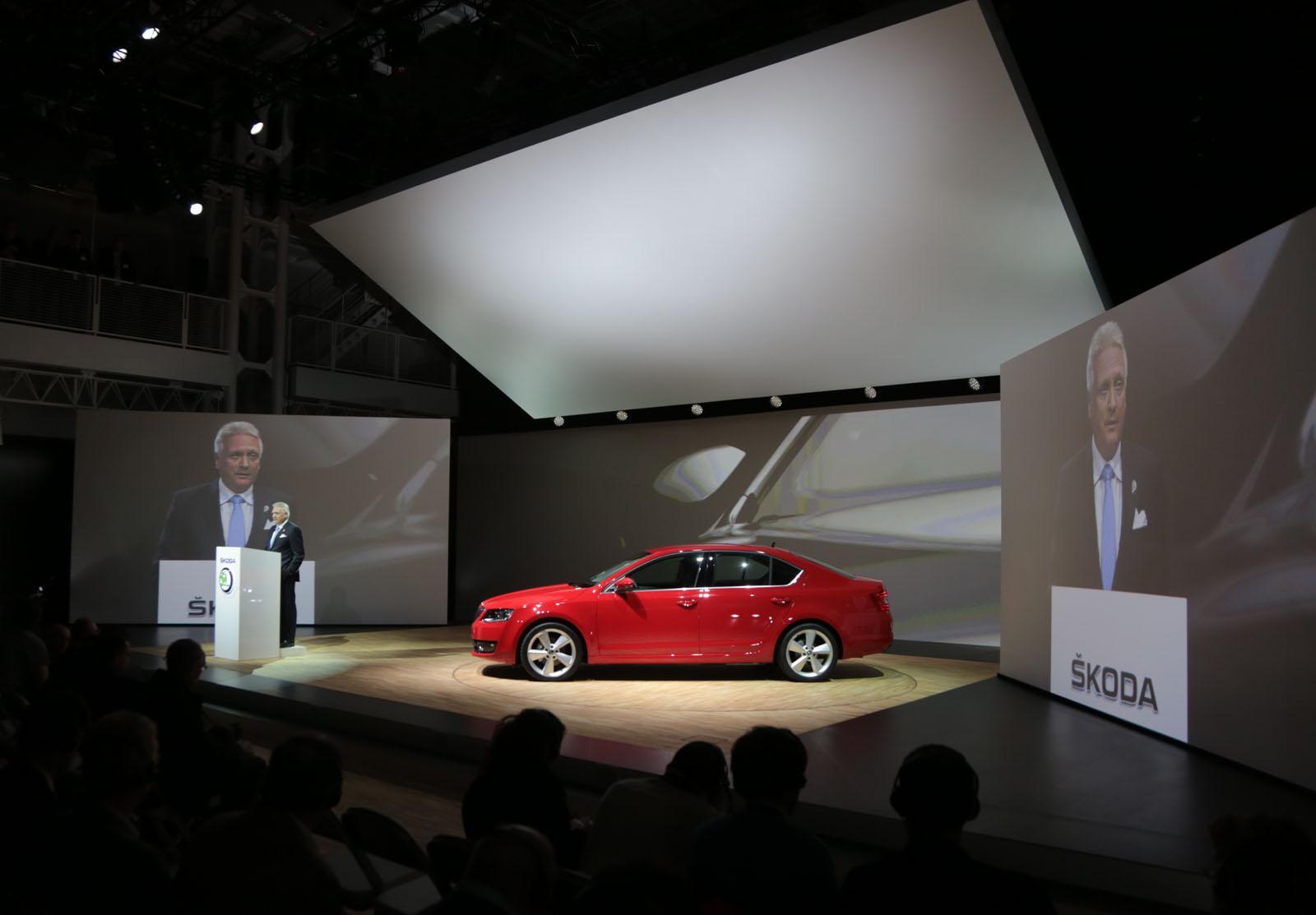 2013 Skoda Octavia Car Show