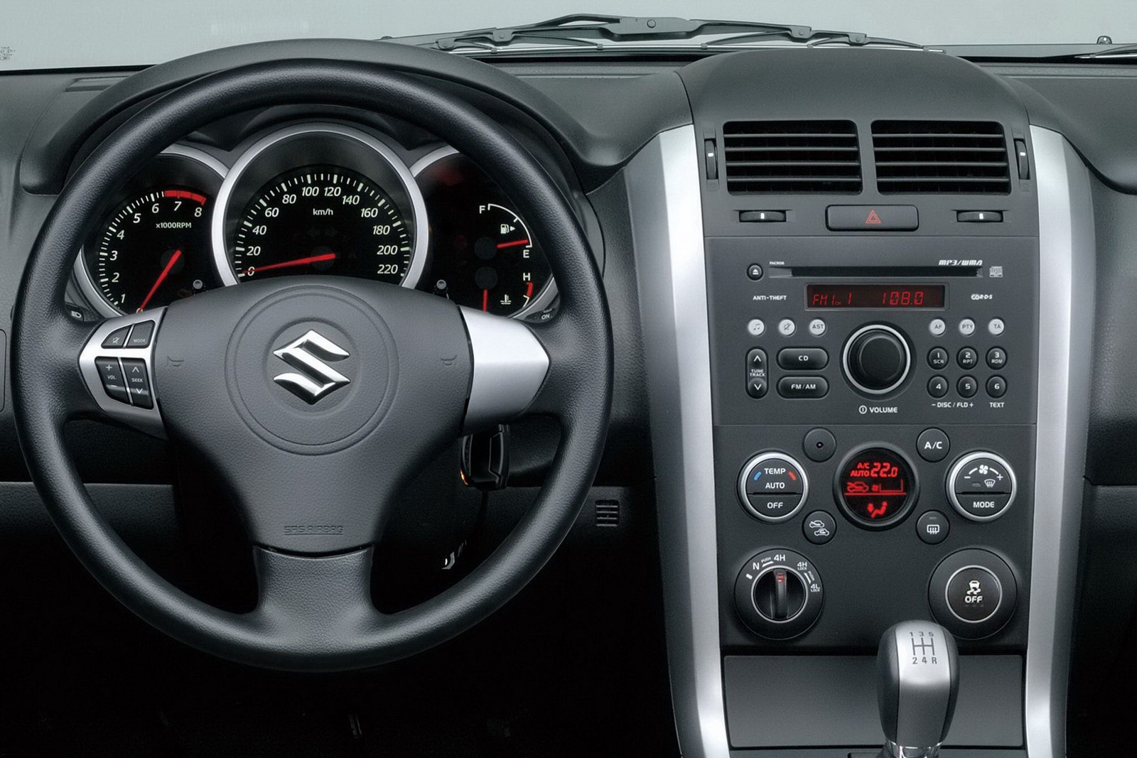 2013 Suzuki Grand Vitara Interior Review