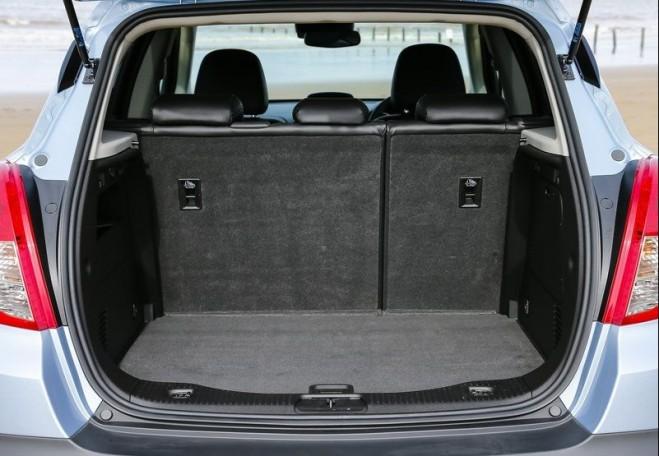 2013 Vauxhall Mokka Bagage Design