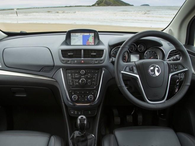2013 Vauxhall Mokka Dashboard Interior Design