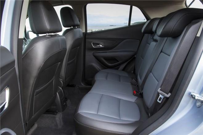 2013 Vauxhall Mokka Rear Interior