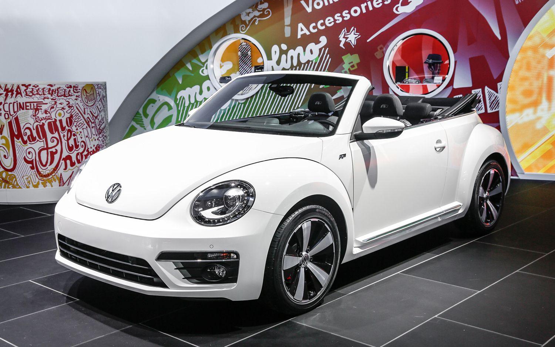 2013 Volkswagen Beetle Convertible White