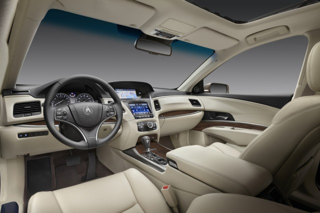 2014 Acura RLX Interior