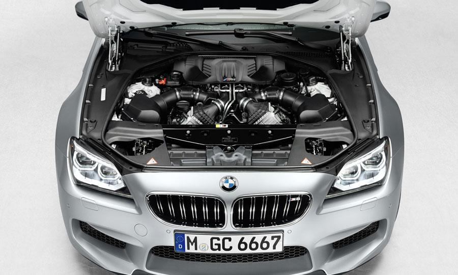 2014 BMW M6 Gran Coupe Engine View
