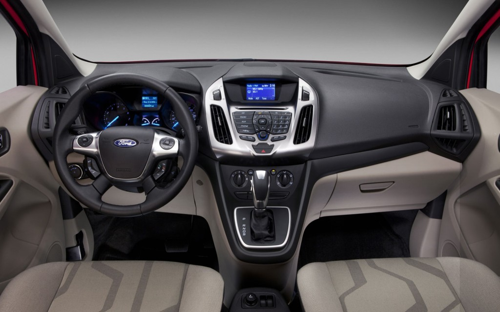 2014 Ford Transit Connect Wagon Elegant Interior