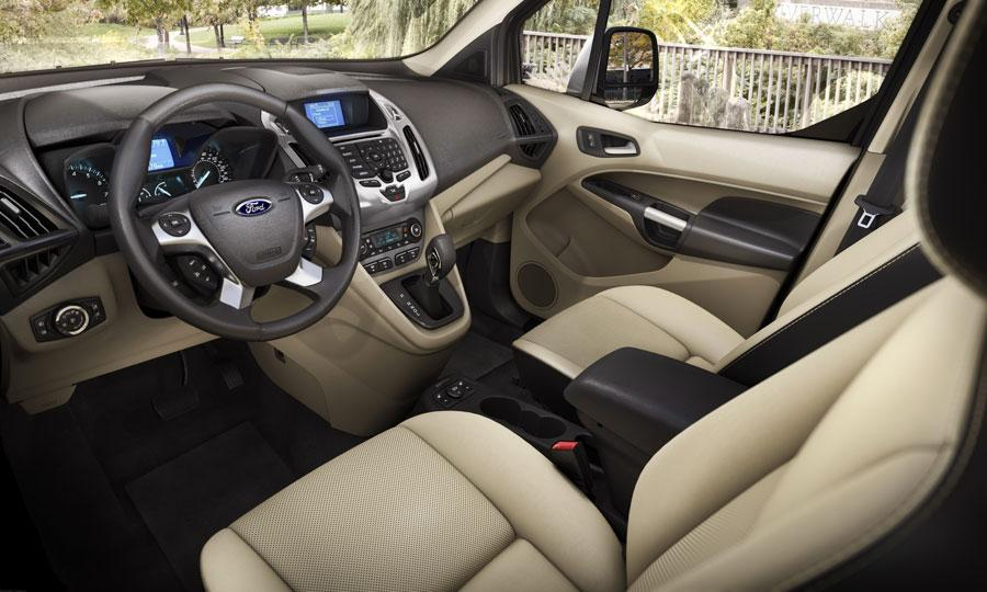 2014 Ford Transit Connect Wagon Front Interior