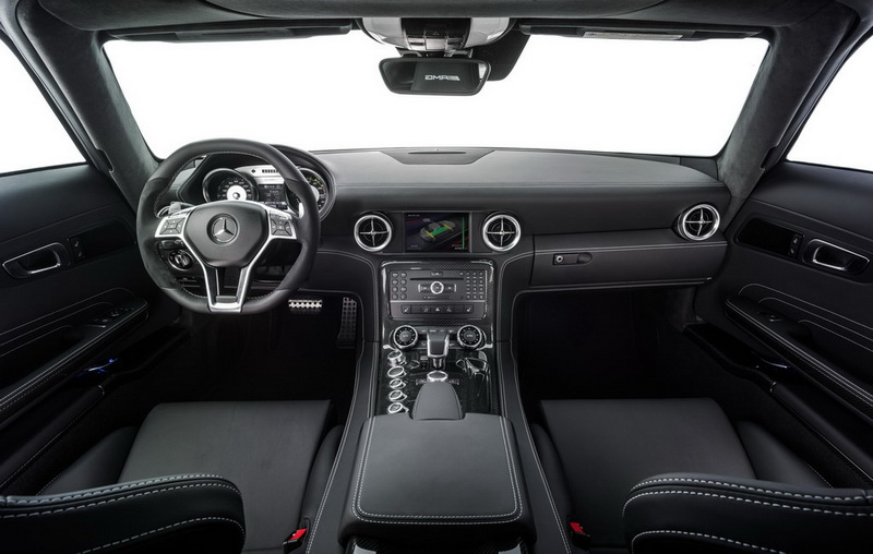 2014 Mercedes SLS AMG Coupe Electric Drive Dashboard