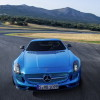 2014 Mercedes SLS AMG Coupe Electric Drive Front View