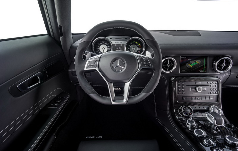 2014 Mercedes SLS AMG Coupe Electric Drive Interior