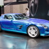 2014 Mercedes SLS AMG Coupe Electric Drive Shows