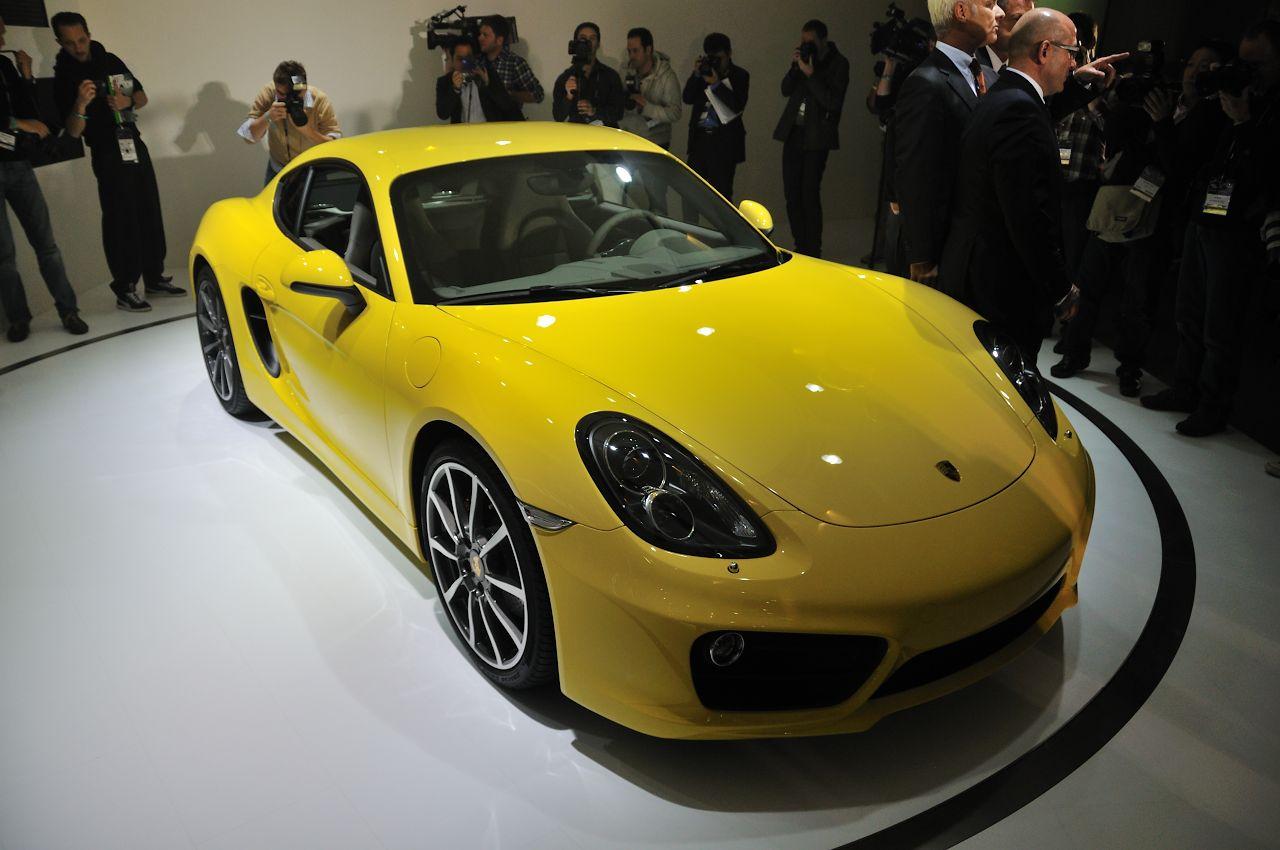 2014 Porsche Cayman Show