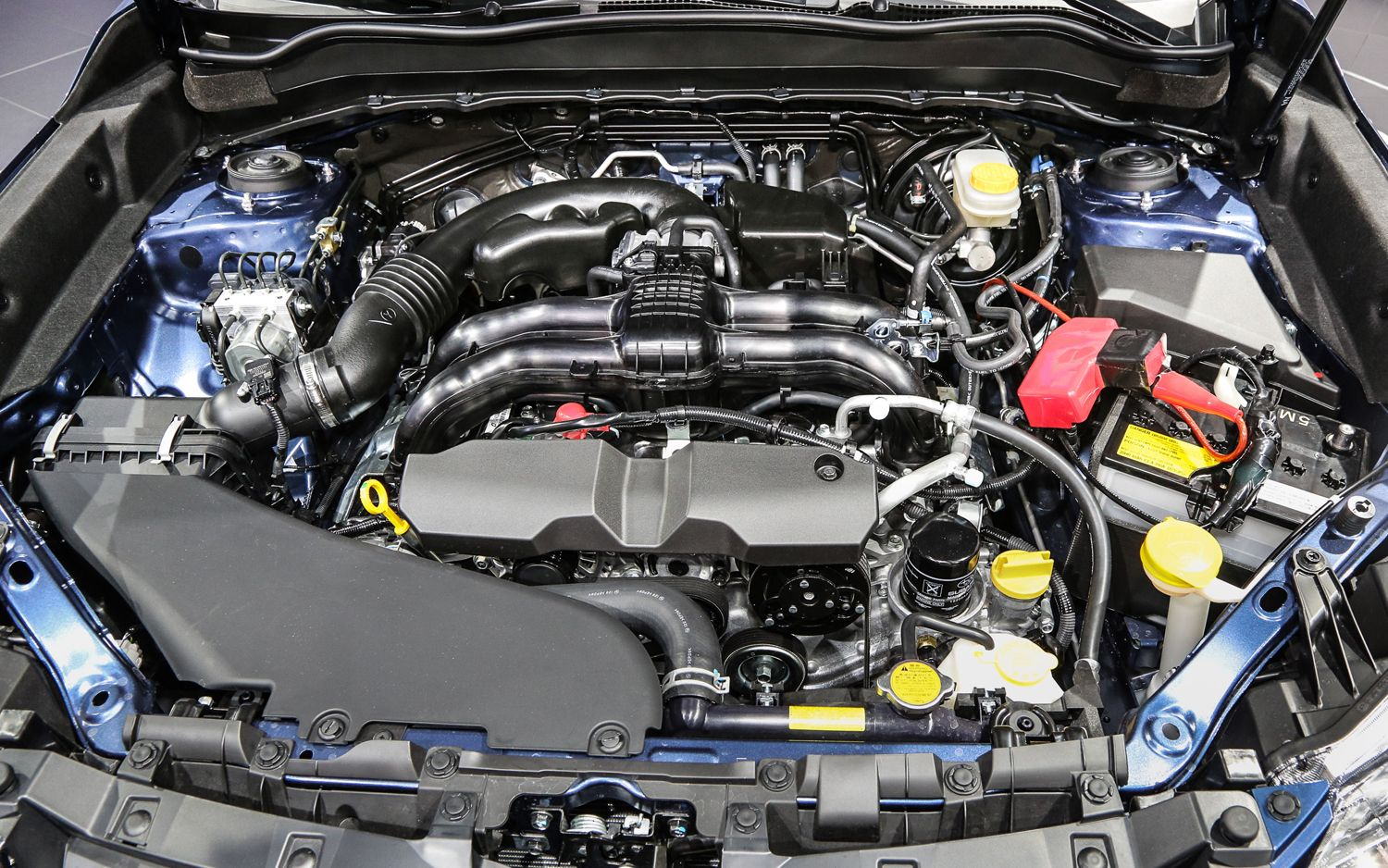 2014 Subaru Forester US Version Engine View