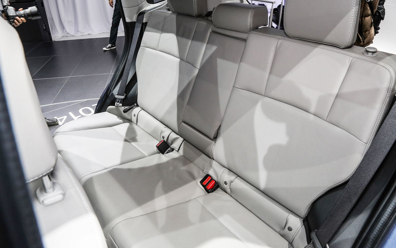 2014 Subaru Forester US Version Rear Interior