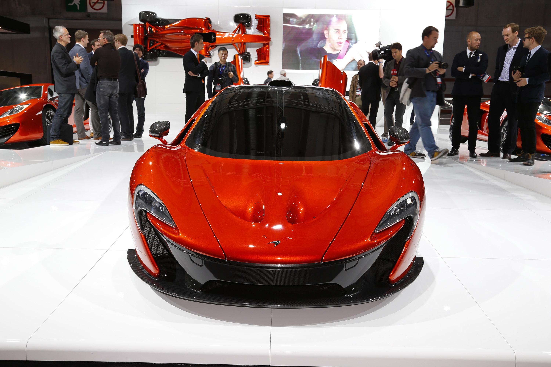 2012 McLaren P1 Release