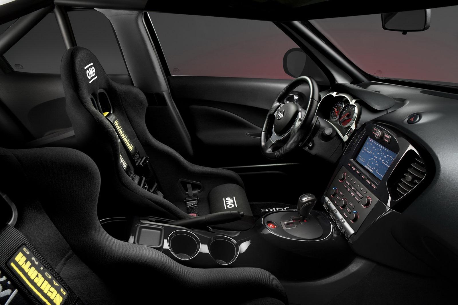2012 Nissan Juke Nismo Dark Knight Rises Interior