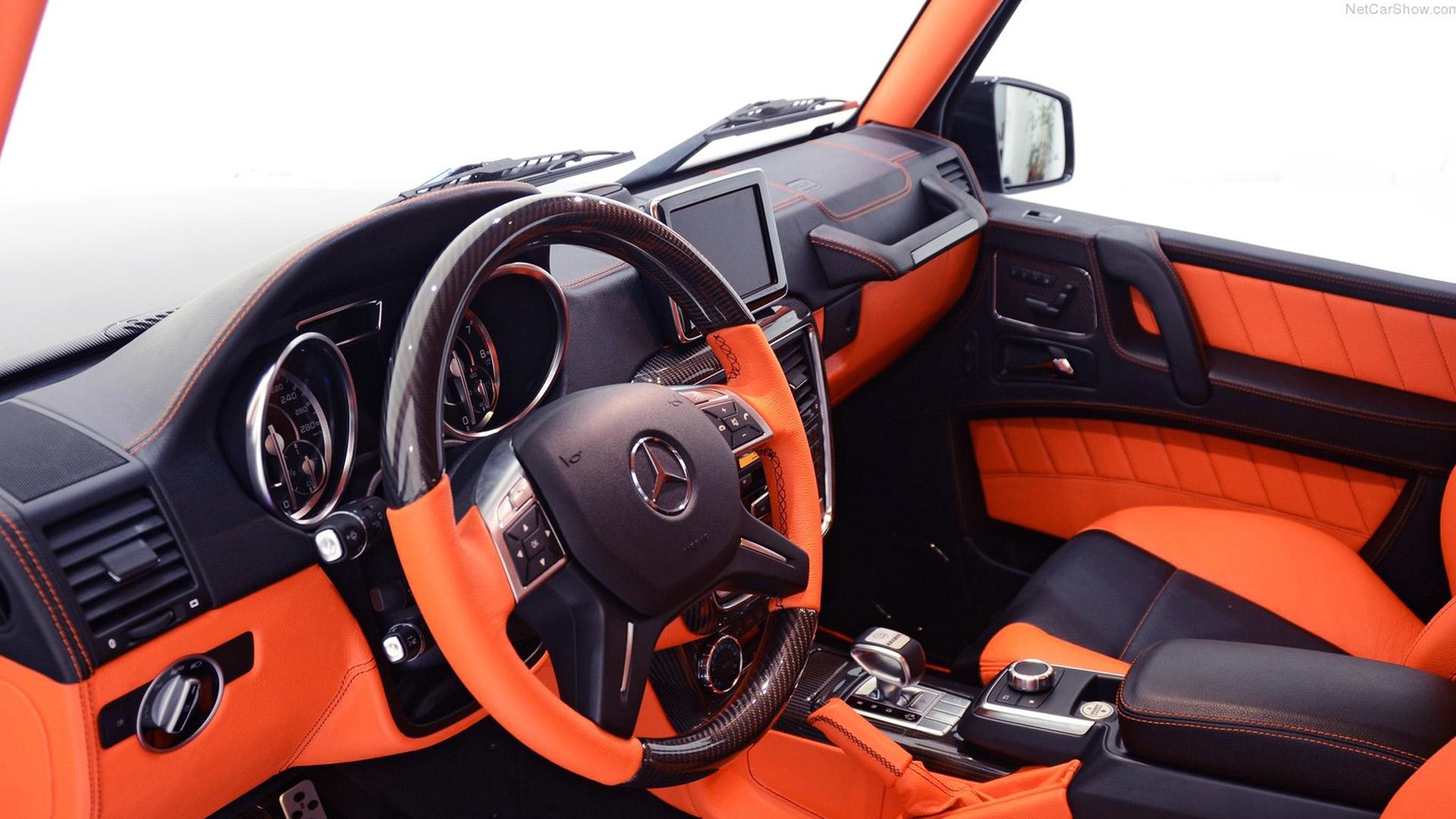 2013 Brabus B63-620 Widestar Front Dash