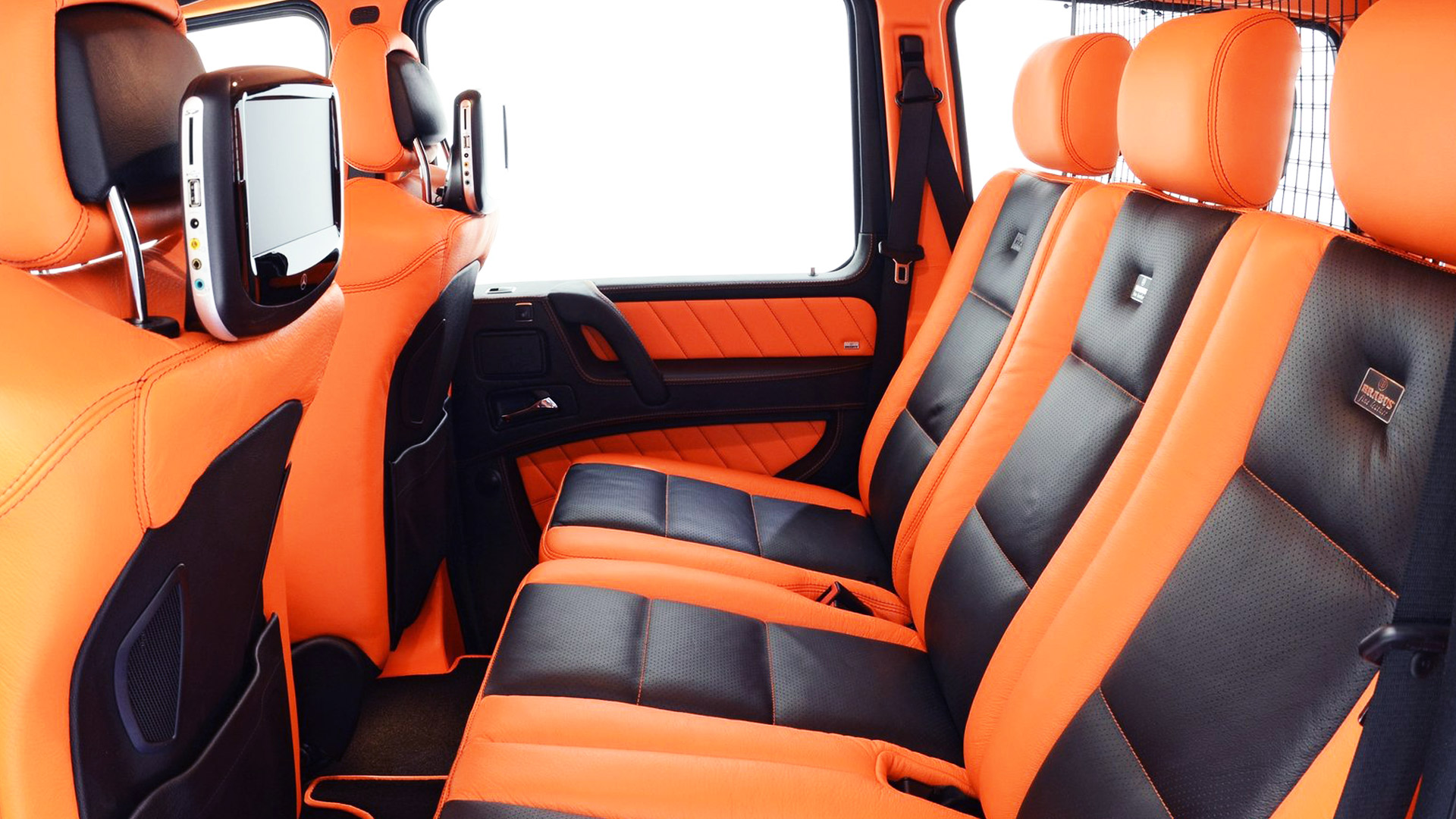2013 Brabus B63-620 Widestar Rear Interior