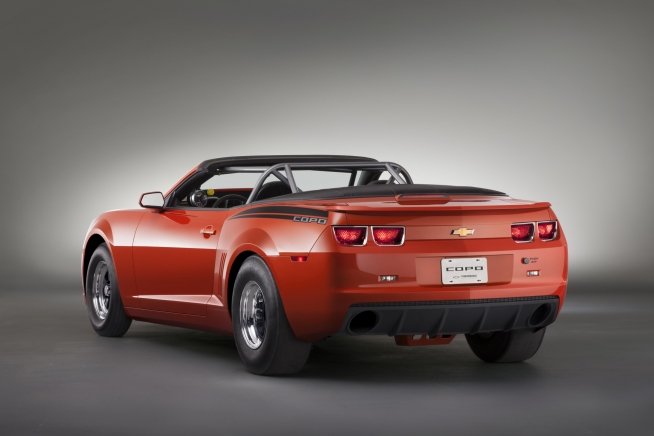 2013 Chevrolet COPO Camaro Convertible Side Rear Exterior