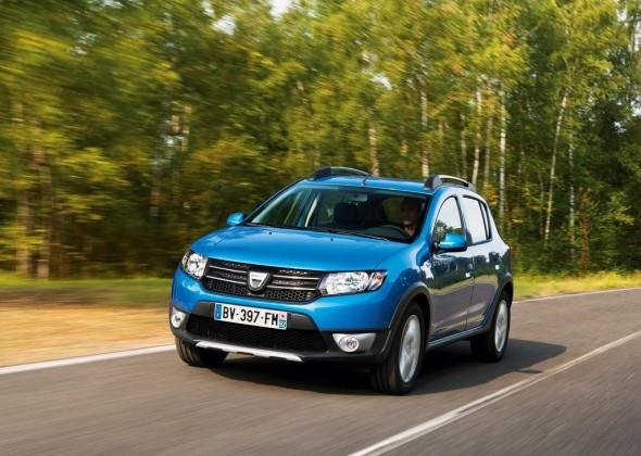 2013 Dacia Sandero Stepway Test Drive