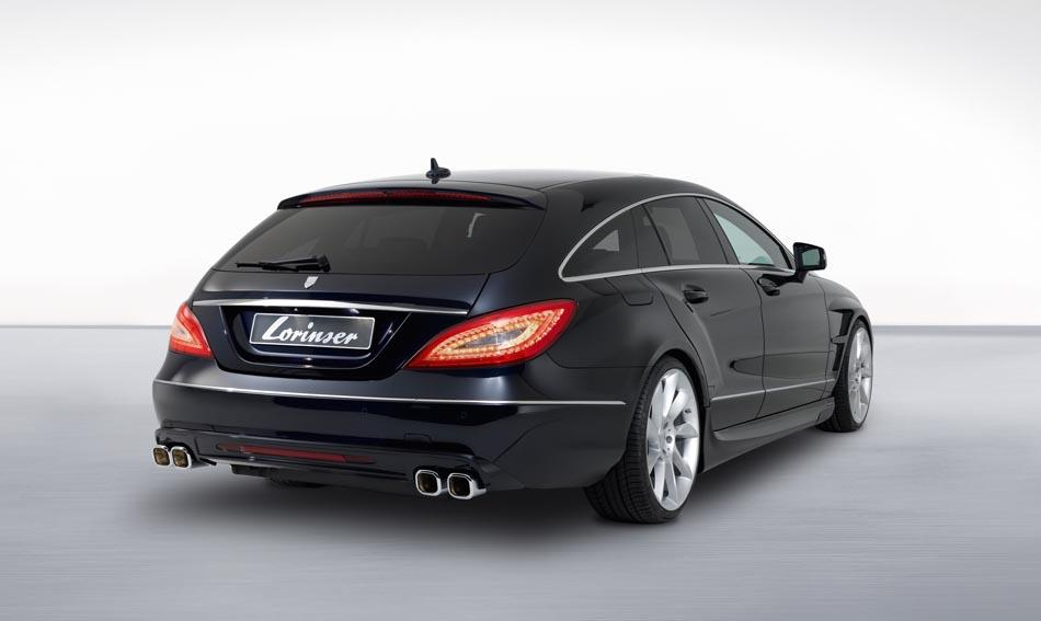 2013 Mercedes-Benz CLS Shooting Brake by Lorinser Rear Exterior