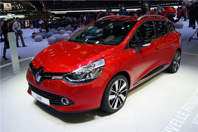 2013 Renault Clio Estate Front Exterior