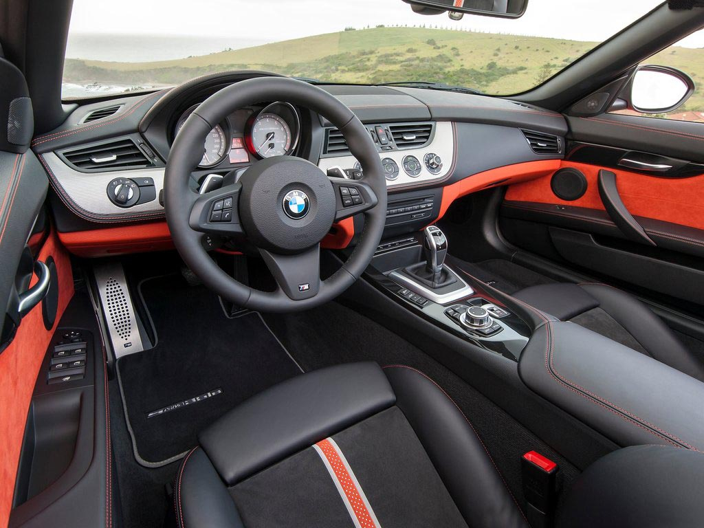 2014 BMW Z4 Roadster Front Interior
