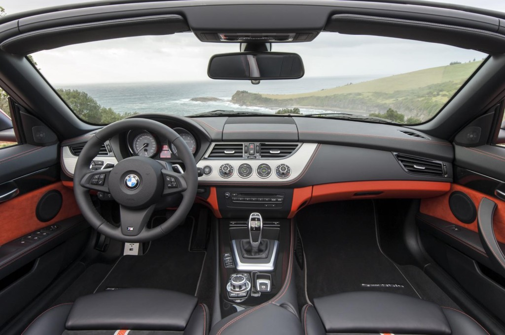 2014 BMW Z4 Roadster Interior Dashboard