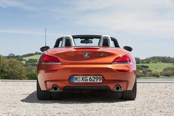 2014 BMW Z4 Roadster Rear Exterior