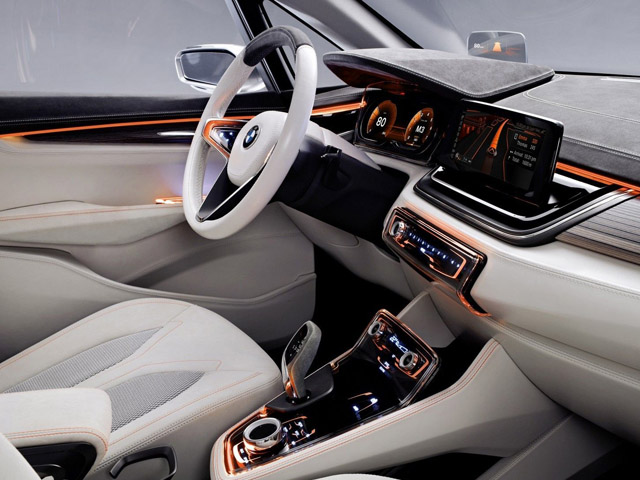 2013 BMW 650i Gran Coupe Art Car Interior
