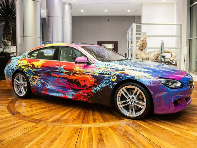 2013 BMW 650i Gran Coupe Art Car Review