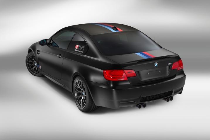 2013 BMW M3 DTM Champion Edition Rear