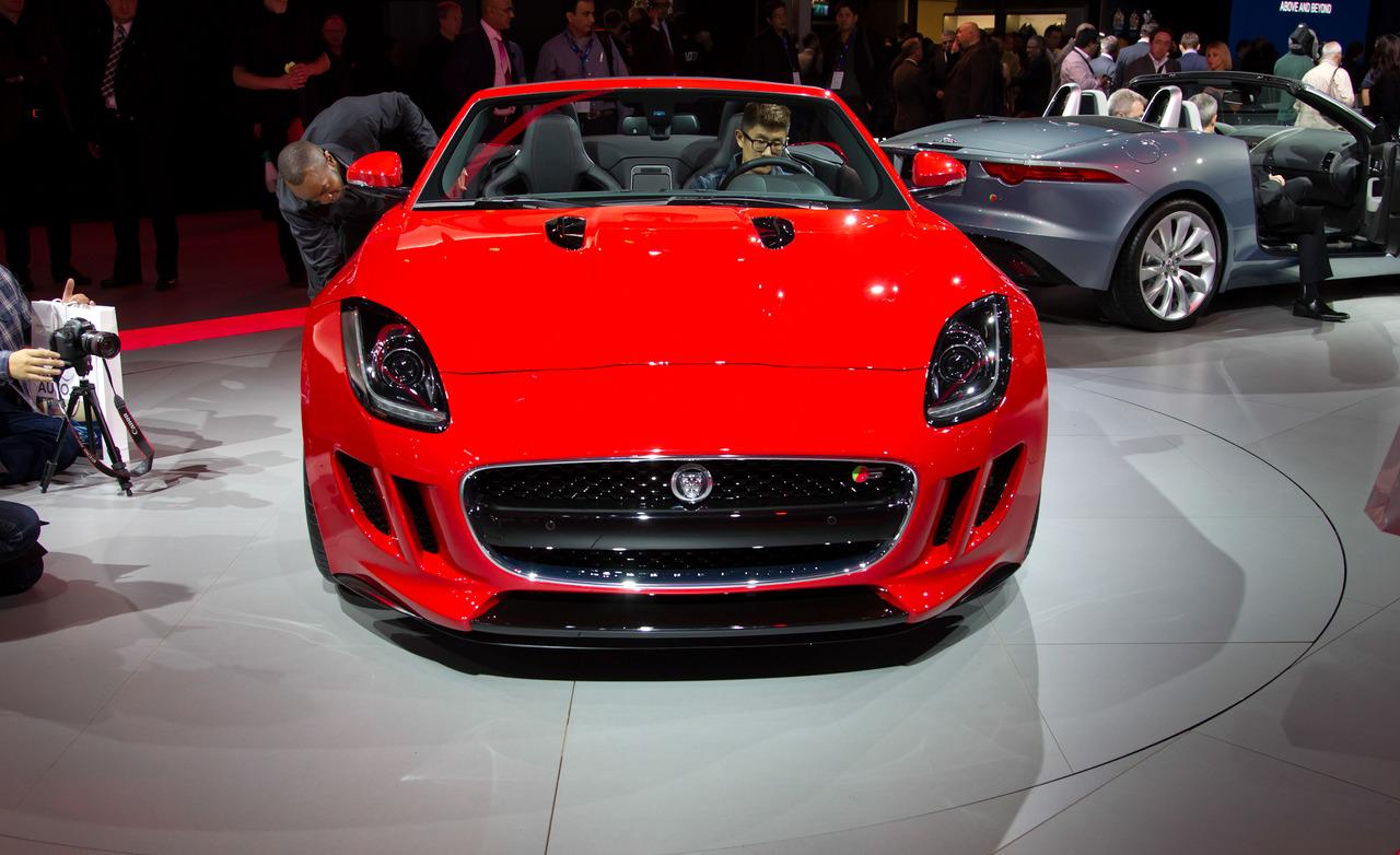 2013 Jaguar F-Type Roadster Front