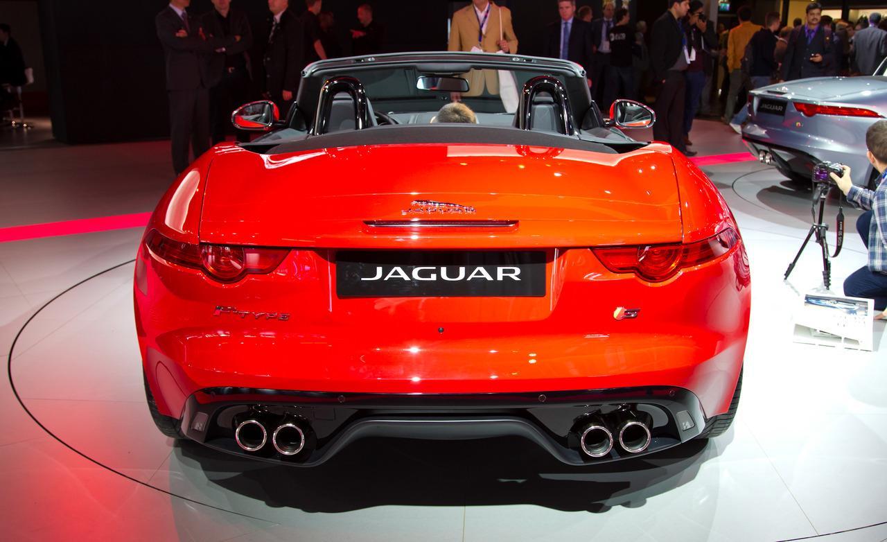 2013 Jaguar F-Type Roadster Rear