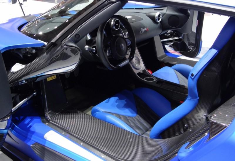 2013 Koenigsegg Agera R Hundra Interior