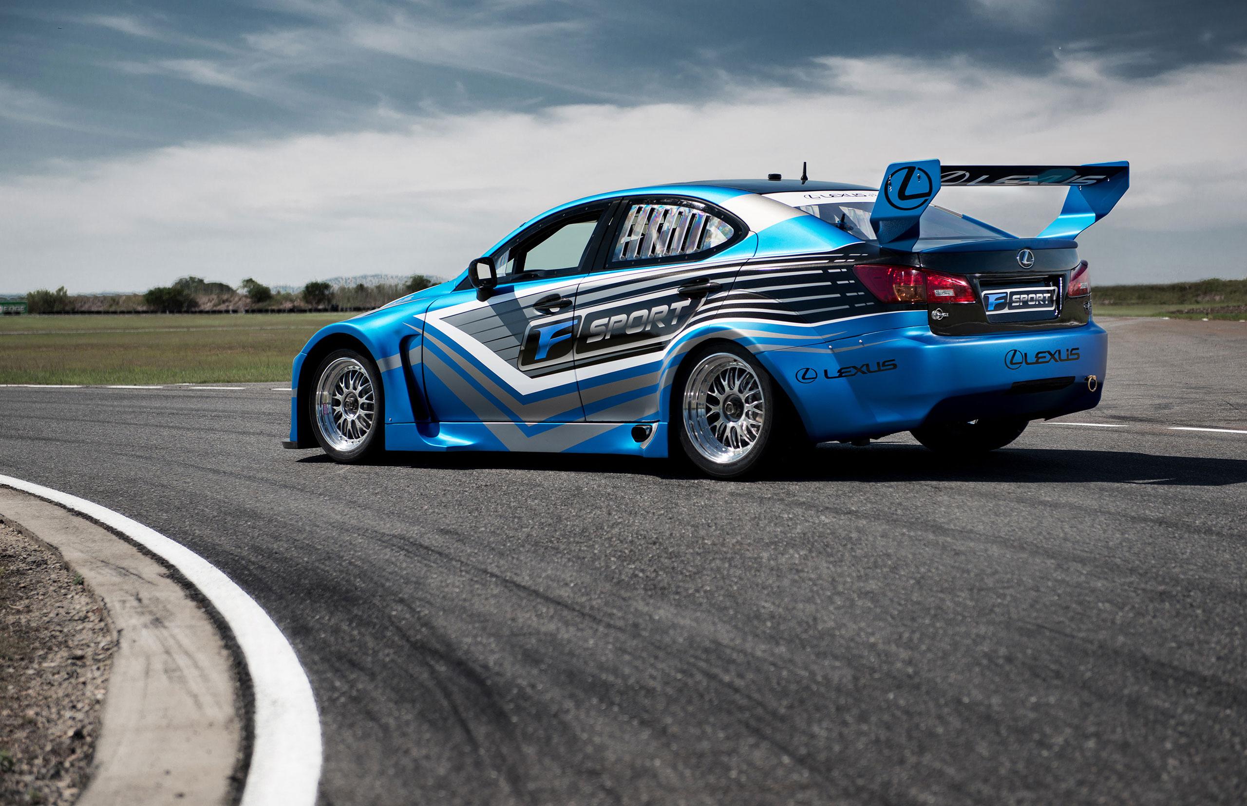 2013 Lexus IS-F Race Cars Rear